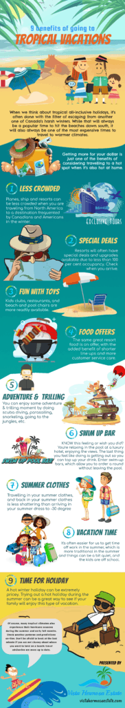 9 benefits of tropical vacations