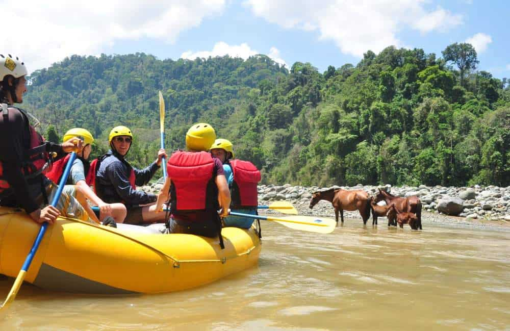 white water rafting Savergre River